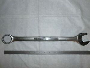 craftsman Usa vv 44708 Combination Wrench 1 1 4 12 Point