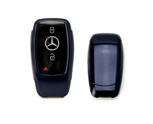 Black Tpu Key Fob Cover W Button Cover For Mercedes E S G A C Cla Cls Glb Class