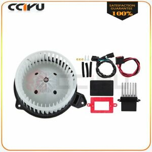 A c Heater Blower Motor And Resistor Fit For Jeep Grand Cherokee 02 04 Car