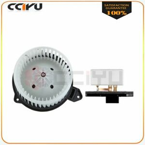 A c Heater Blower Motor And Resistor Fit For 02 08 Dodge Ram 1500 Car