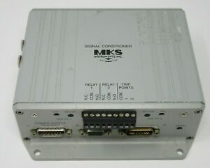 Mks Instruments 621b Signal Conditioner 1 Torr In 15vdc Out 0 10vdc 12tdfh