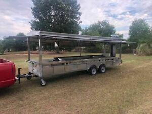20 Catering taco Food Concession Trailer For Sale In Texas