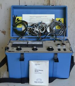 Biddle 15kv Dielectric Test Set 220015 Good With Manual 22 15 Ja