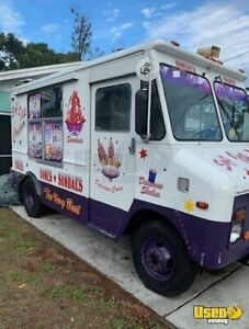Chevy P 30 Ice Cream Truck For Sale In Florida
