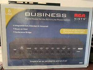 Rca Visys Business Digital Router For Rca 8 line Phone System