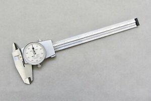 Servicd calibratd Brown Sharpe 599 579 4 Dial Calipers 6 Swiss made Smooth