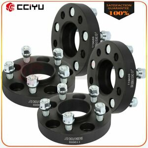 4 Pcs 1 Thick 5x4 5 Wheel Spacers 1 2 Studs For Ford Mustang Edge Ranger