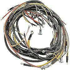 1951 Ford Car Convertible Only Body Wiring Harness W Turn Sig Wire