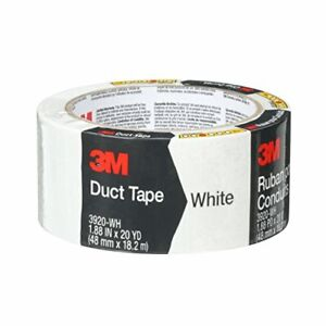 3m 3920 wh 1 88 X 20 Yards Scotch White Duct Tape