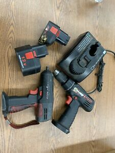 Snap On Cordless Drill And 3 8 Impact