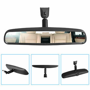 10 Mirror Day Night Interior Inside Rearview Flat Mount Fit For Most Car Truck