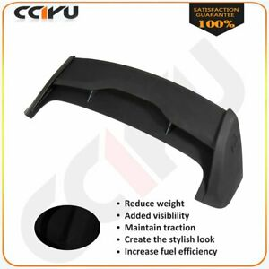 For 2012 2018 Ford Focus Hatchback Rs Matte Visiblility Style Spoiler Wing