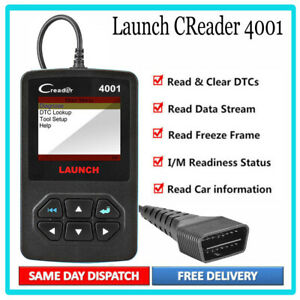 Automotive Obd Fault Code Reader Obd2 Car Engine Diagnostic Tool Scanner Launch