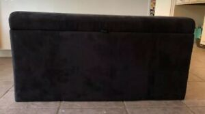 Black Suede Trunk