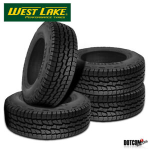 4 X New West Lake Sl369 All Terrain 275 70 16 114s Off Road Tire
