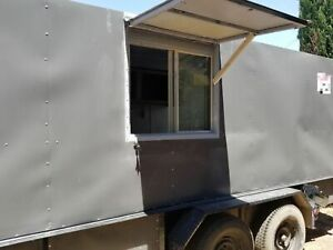 Used 2005 9 X 16 Mobile Kitchen Unit Ready To Go Food Concession Trailer For