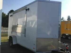 2019 6 X 12 Wow Cargo Shaved Ice Concession Trailer Used Snowball Stand Fo