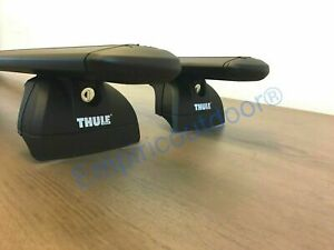 Complete Thule Roof Rack For Audi Q7 Suv 17 19 In Black Free Shipping