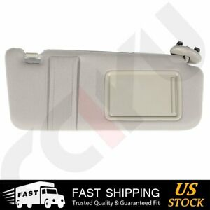 Fit 2006 2011 Toyota Camry Beige Color Car Sun Visor Without Sunroof Right Side