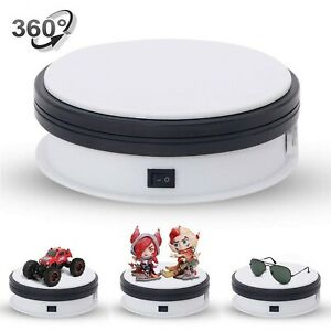 Yuanj Motorized Turntable Display 360 Degree Electric Rotating Display Turnt
