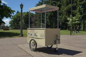 2017 European Style Street Vending Push Cart With Trailer For Sale In Oregon