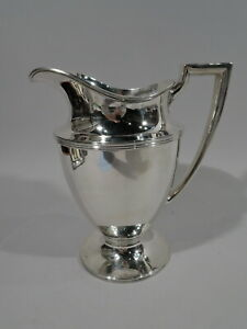 Tiffany Water Pitcher 18181 Antique Classical American Sterling Silver