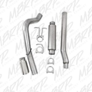 Mbrp Exhaust Single Side Exit For 2011 2016 Ford F 250 F 350 6 2l V8 Crew Cab