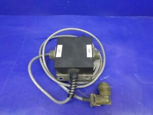 Trimble Spectra Laser 010907 15 mcs Apache Dual Receiver Cable W junction Box