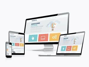 Custom Website Unlimited Pages Free Hosting For Life One Year Domain