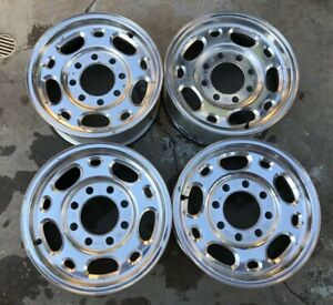 Chevy 2500 Hd 16 8 Lug Factory Oem Gmc Duramax Diesel 4x4 Wheels Rims 5079 6 0