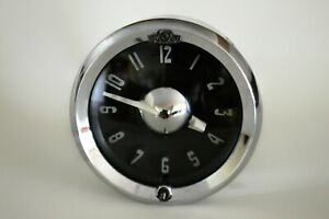 1951 54 Pontiac Streamliner Chieftain Dash Clock