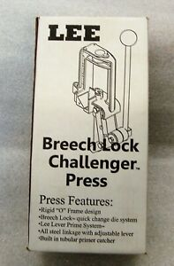 Lee Precision Breech Lock Challenger Press