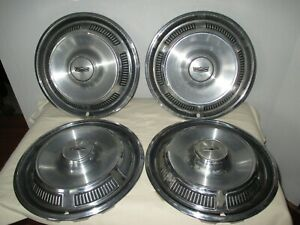 Vintage Ford Mercury 14 Hubcaps Wheel Covers Classic Antique Fomoco