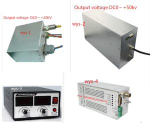 High Voltage Power Supply For X Ray Tube 0 20kv 0 50kv 1ma 2ma