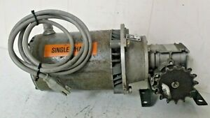 Dayton Electric Motor Direct Drive 1 6 H p 1 P h Hz 60 1140 Rpm W Gearbox