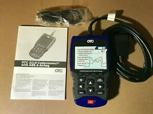 Otc 3210 Codeconnect Scan Tool Obd2 Abs Airbag Srs Live Data Battery Oil Reset