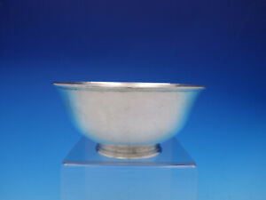 Arthur Stone Sterling Silver Bowl 10 9 Ozt Hand Wrought Vintage 3605