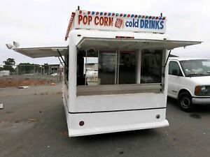 Used 8 X 14 Waymatic Vintage Carnival Food Concession Trailer In Georgia Well