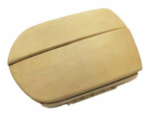 Fits 07 13 Acura Mdx Beige Real Leather Center Console Lid Armrest Cover