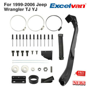 For 1984 2001 Jeep Cherokee Air Intake Rolling Head Snorkel Kit Assemble Parts
