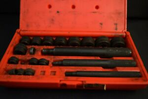 Snap on Tools Bushing Driver Set Not Complete W Pb20 Case D2