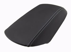 Fits 11 18 Ford Explorer Gray Stitch Real Leather Center Console Armrest Cover