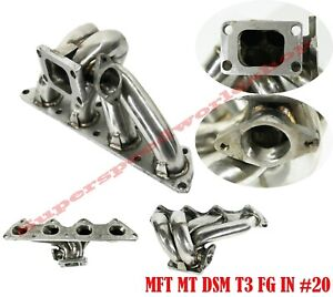 T3 Ss Manifold For Mitsubishi Evo 8 eclipse dsm 1g 2g 4g63 Engine Only