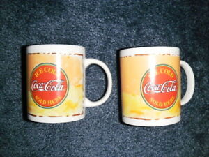 COCA COLA Everyday Gibson 11 oz. set of 2 mugs new