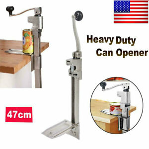 11 Inch Big Heavy duty Table Bench Commercial Kitchen Restaurant Food Can Opener