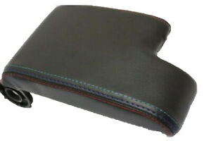 Fits 90 99 Bmw E36 M Type Stitch Real Leather Center Console Lid Armrest Cover