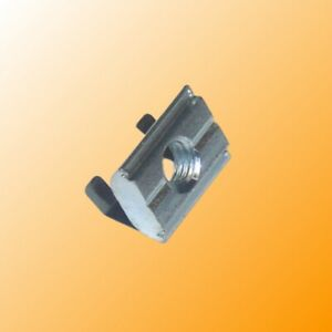 Roll in T slot Nut With Spring Leaf Self aligning 30 Series 100 equiv to 8020