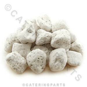 5kg Bag Of White Commercial Pumice Stone Gas Bbq Char Grill Lava Rock P n Lava9