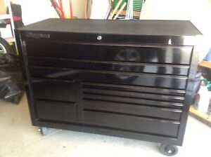 Snapon Classic 55 10 Drawer Tool Box Model Kcp1422bfi Tool Box Only