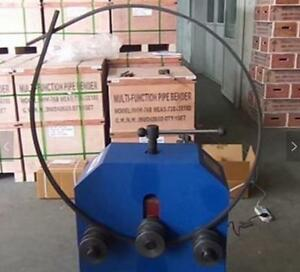 Industrial Pipe Bender Electric Tube Folding Machine With Multi Size Dies 1500w
